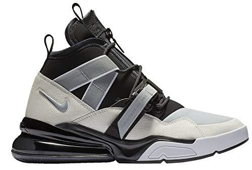 Nike Air Force 270 Utility Men's Shoes Black/Sail/Wolf Grey/White aq0572-003 (9.5 D(M) US) (Air Force Jordans Shoes)