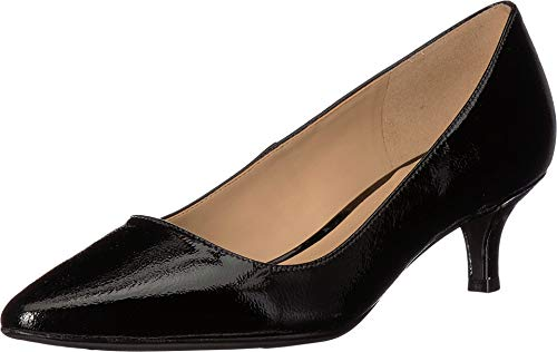 Naturalizer Women's Pippa Black Patent Leather 8.5 M US (Leather Polished Patent Black)