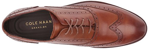 Cole Haan Mens Henry Grand Shortwing Oxford British Tan/Dark Natural Zs5y1Pq