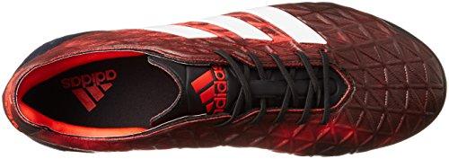 adidas Kakari Light SG, Scarpe da Rugby Uomo, Nero (Negbas/Ftwbla/Rojbas), 39 1/3 EU