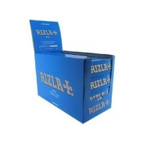 (Rizla Blue Regular Rolling Papers 70mm Full Box Of 100 Packs)
