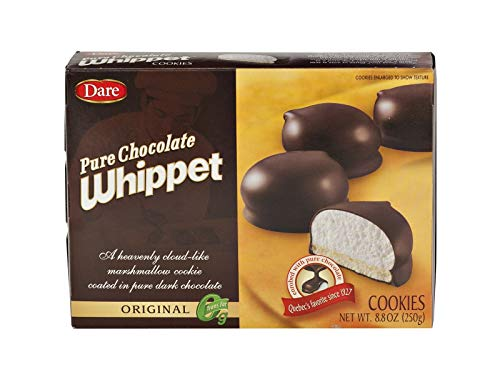 Dare Whippet Original Cookies, Chocolate, Marshmallow Cookies, 2, 8.8 OZ Boxes ()
