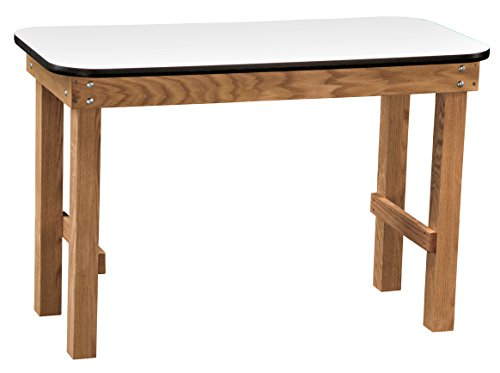 Dynatronics Hand Therapy Table - Solid Oak w/Laminated Surface