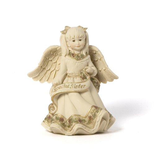 (Pavilion Gift Company Sarah's Angels Tapestry Series Special Sister Figurine, 4-1/2 Inch)