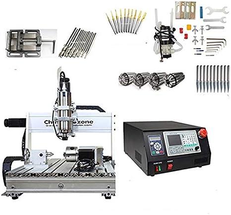 CNC 6040 USB Mach3 Control 2.2KW Enrutador CNC de 4 ejes CNC ...