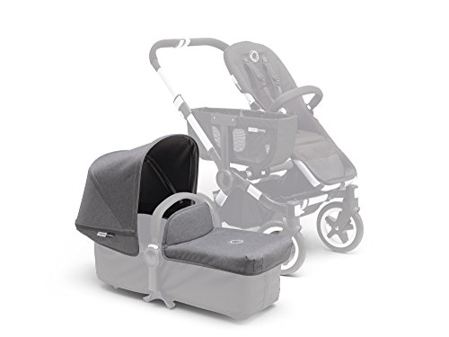 Bugaboo Donkey Tailored Fabric Set, Grey Melange by Bugaboo
