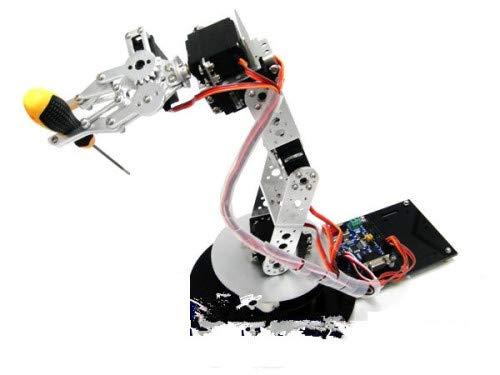 GOWE AS-6DOF - Brazo robótico de aluminio: Amazon.es: Bricolaje y ...