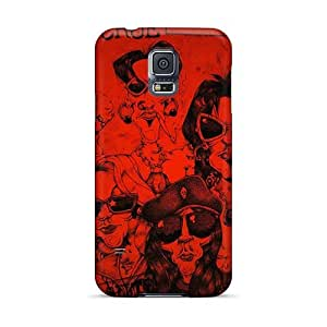 Samsung Galaxy S5 UXc9255RTwj Support Personal Customs Trendy Motley Crue Band Image Excellent Hard Phone Cover -AlissaDubois