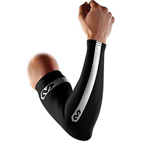 McDavid Pair Compression Reflective Arm Sleeves