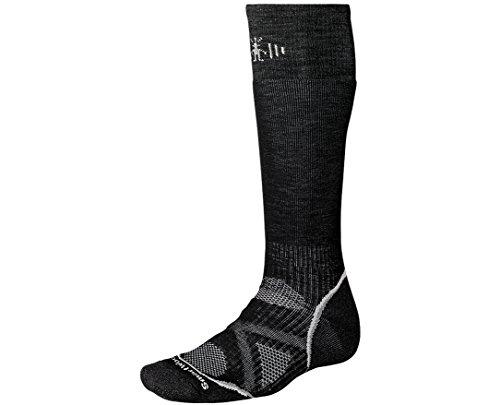 SmartWool Men's PhD Snowboard Medium Socks (Black) Medium