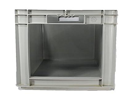 3 pieza Euro Depósito 60 x 40 x 32 cm Con Apertura frontal – Usado Caja