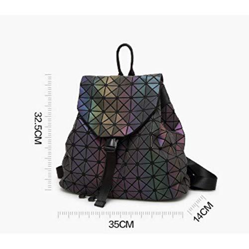 Dos unique Fold Geometry Taille de Backpack pour à Voyage XLF Femme Sac PngqEwPxF