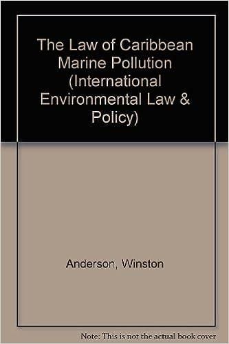 """The Law Of Caribbean Marine Pollution"" - PDF iBook EPUB por Winston Anderson 978-9041106629"