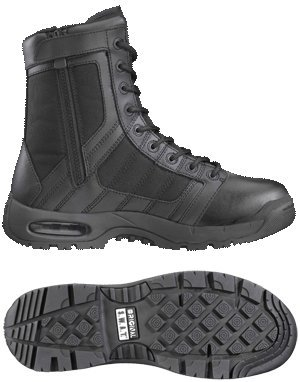 Original S.W.A.T. Men's Metro Air 9 Inch Side-zip Tactical Boot, Black, 10.5 D