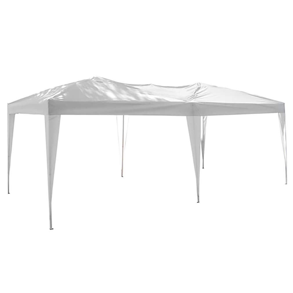 PopUpCanopy Party Tent EZ Up 10x20 Canopy Tent Instant Shelter Folding Gazebo Rain Canopy W/Carrying