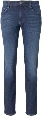 TOM TAILOR Pantalones vaqueros Josh Regular Slim 1018968 10281 Mid Stone Wash Denim