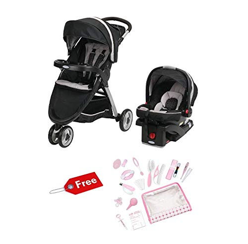 FastAction Fold Sport Click Connect Travel System with Freebies (Pierce)