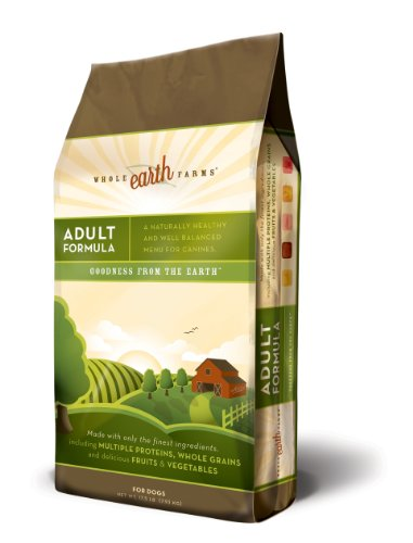 Merrick Whole Earth Farms Adult Dry Dog Food, 17-1/2-Pound Bag, My Pet Supplies