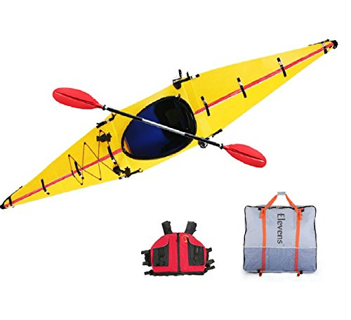 Elevens Cruise Plus Foldable and Portable Kayak (Yellow)