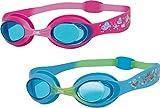 Zoggs Swimming Pool Aqua Fun Little Twist Swim Goggles Pack Of 6