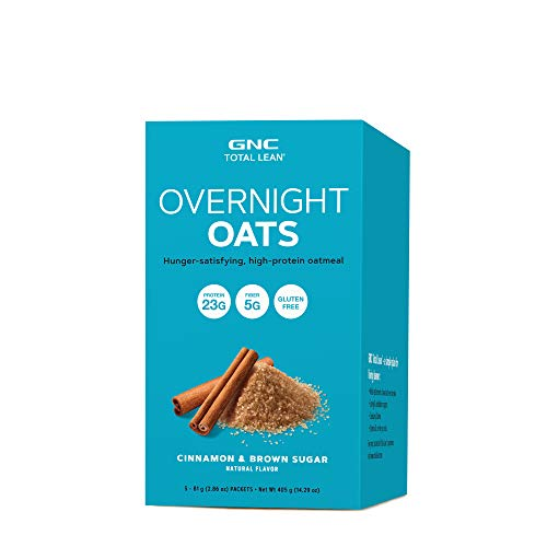 GNC Total Lean Overnight Oats – Cinnamon and Brown Sugar