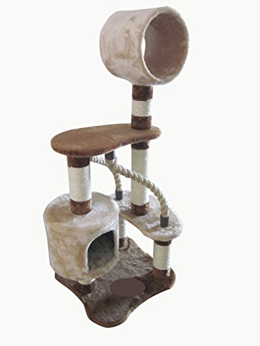IRIS 4-Tier Cat Tree Condo, Cat Playground