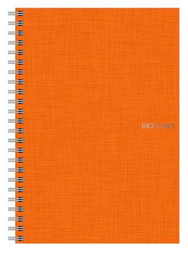 Ecoqua Spiral Notebook 5.8X8.25 Orange]()