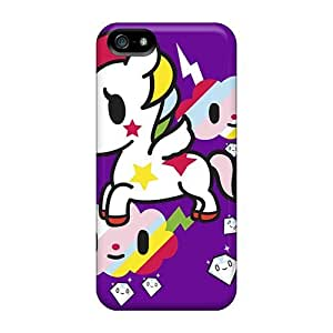 Durable Protector Case Cover With Unicorn Hot Design For Iphone 5/5s