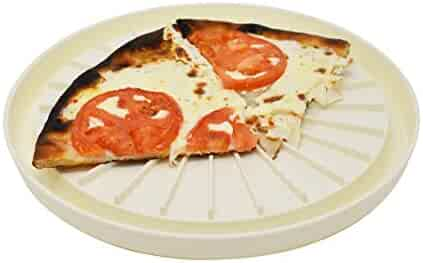 Multipurpose Round Microwave Pan | Pizza Tray - by Home-X