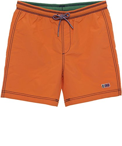 Short De Napapijri Orange Bain Villa HOnwqzT