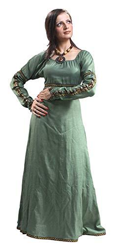 (ThePirateDressing Medieval Renaissance Forest Princess Dress (Small))