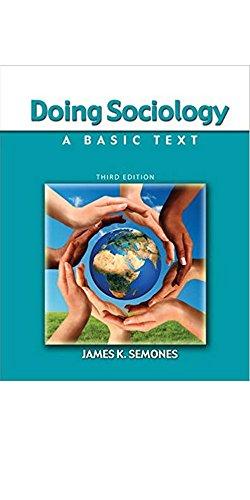 Doing Sociology: A Basic Text - text