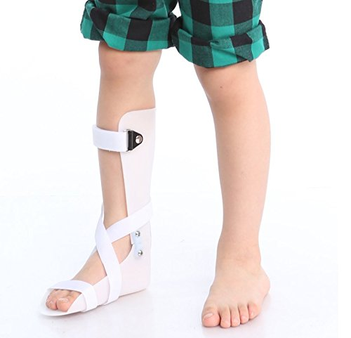 Kids AFO Drop Foot Splint Toddler Custom Othopedic Ankle Foot Brace Night Splint Support for Children (S-Left: 5.9 inches)