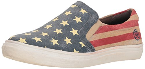 Roper Women American Beauty Slip on Sneaker Blue