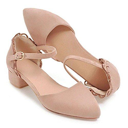 Pink Moda Donna Caviglia alla Sandali RAZAMAZA Cinturino Scarpe 50Rn7x0Od
