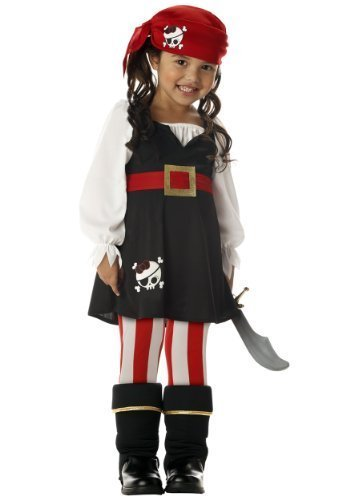 Precious Lil' Pirate Costume - Toddler Large