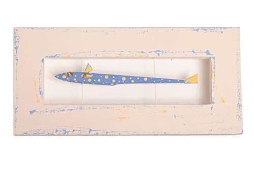 Fish Artwork Wooden Artwork Wall Mounted Home Mediterranean Decor