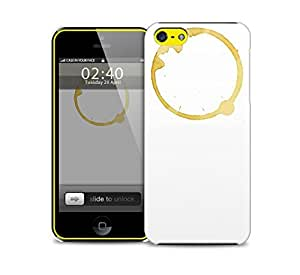 tea stain iPhone 5c protective phone case