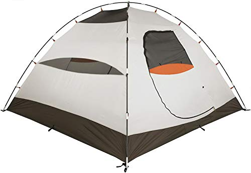 Camping Tent. 4 Person Family Dome Canopy is Portable, Waterproof. Best Outdoor, Hiking, Backpacking, Beach, Fishing, Hunting, Travel, Trip Gear, Equipment