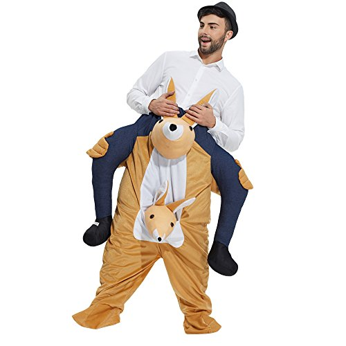 TOLOCO Piggyback Ride On Riding Shoulder Adult Costume