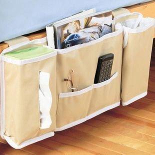 Aspire Bedside Caddy Bed Organizer Storage