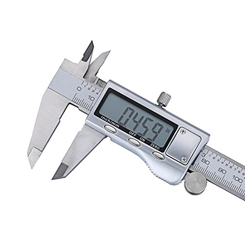 Electronic Measuring Tools : Boruo stainless steel electronic digital caliper inch