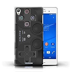 KOBALT? Protective Hard Back Phone Case / Cover for Sony Xperia Z3 | Playstation PS3 Design | Games Console Collection