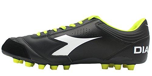 Diadora , Herren Fußballschuhe schwarz Schwarz/Weiß