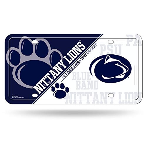 (NCAA Penn State Nittany Lions Metal License Plate Tag)