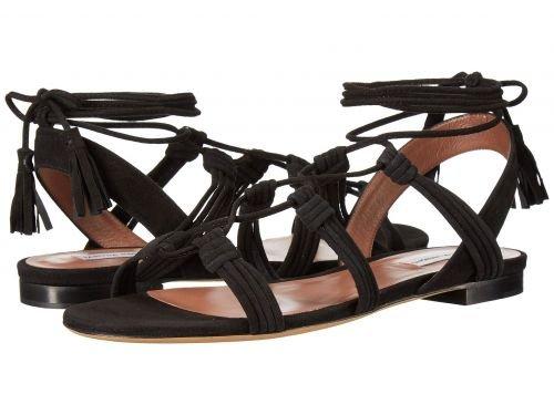 Tabitha Simmons(タビサシモンズ) レディース 女性用 シューズ 靴 サンダル Jax - Black Kid Suede [並行輸入品]