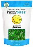 Happy Bites Green Apple Gummi Bears - Gluten Free, Fat Free, Dairy Free - Resealable Pouch (1 Pound)