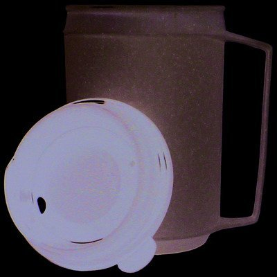 Fabrication Insulated Cup, Tube Lid 8 Ounce