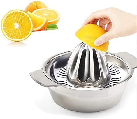 01 Fondo Plano Fácil de Limpiar Diseño Antideslizante Durable Práctico Exprimidor de Frutas, Exprimidor, para Naranjas Limones