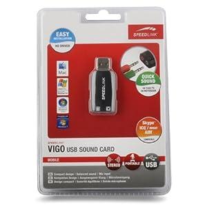 [meinpaket.de] Speedlink Vigo SL 8850 SBK USB Soundkarte für 8,99€ & Hantelstange Curl Set 23,5kg ab 24,95€